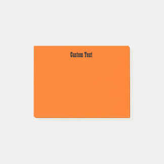 Simple Orange Post-it Notes
