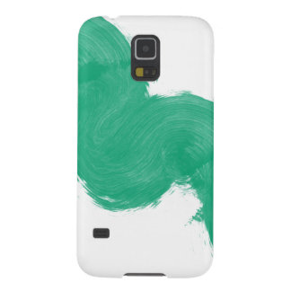 Simple Paintbrush Swirl Case For Galaxy S5