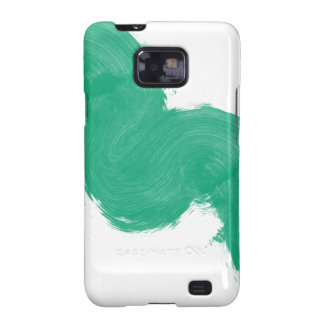 Simple Paintbrush Swirl Samsung Galaxy S2 Cover