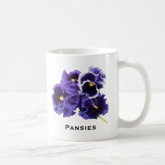 Simple Pansy Mug