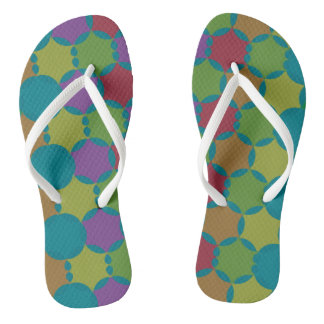 Simple pattern flip flops for everyday wear