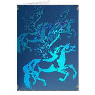 Simple Pegasus 2 Card