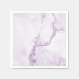 Simple & Perfect Purple Marble Napkin Paper Napkins