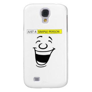 Simple person Samsung Galaxy S4 Case