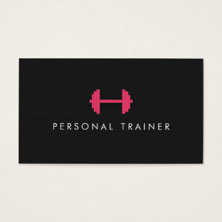 Simple Personal Trainer Fitness Business cards