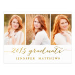 Simple Photo Collage | Graduation Party Invitation Post Card