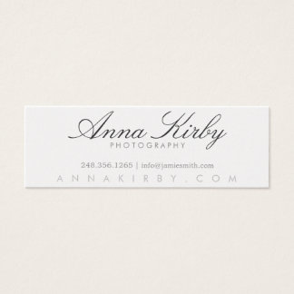 Simple Photography Business Card | Photography