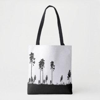 Simple pine tree bag