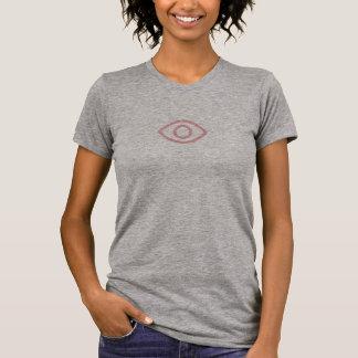 Simple Pink Eye Icon Shirt