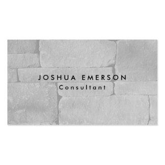 Simple Plain Elegant Grey Wall Modern Pack Of Standard Business Cards
