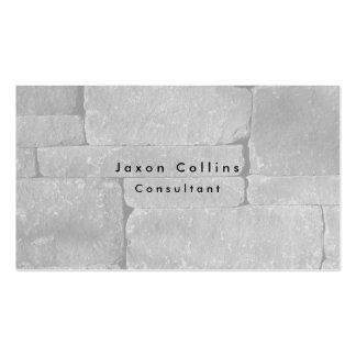 Simple Plain Grey Wall Minimalist Modern Pack Of Standard Business Cards