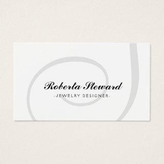 Simple Plain Jewelry Designer Cool Card