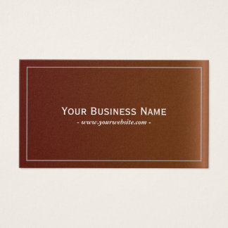 Simple Plain Leather Texture Business Card