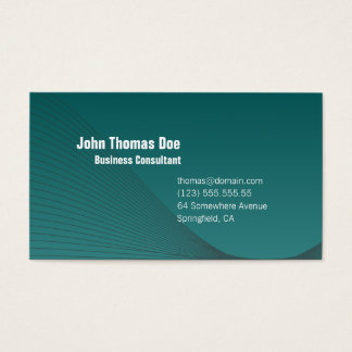 Simple & Plain Professional Business Card Design