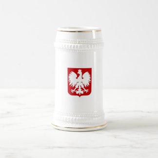 Simple Polish eagle Stein Beer Steins