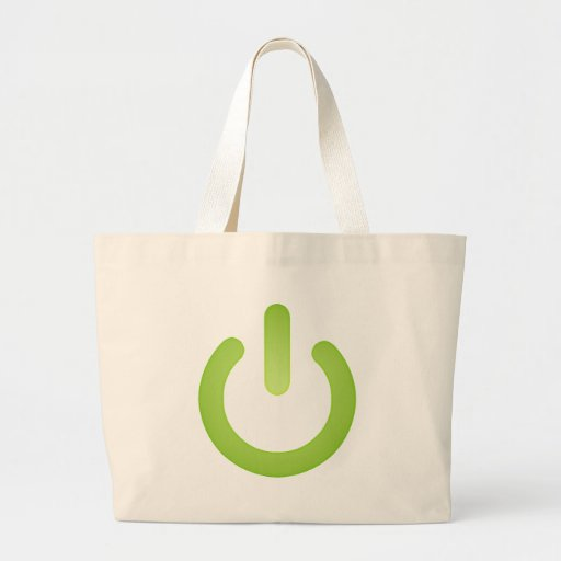 Simple Power Button Bags