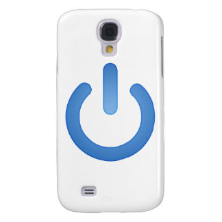 Simple Power Button Galaxy S4 Cases