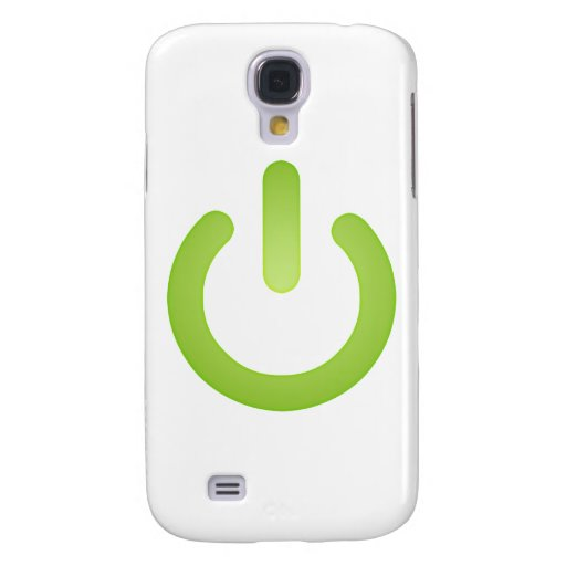 Simple Power Button Samsung Galaxy S4 Cover