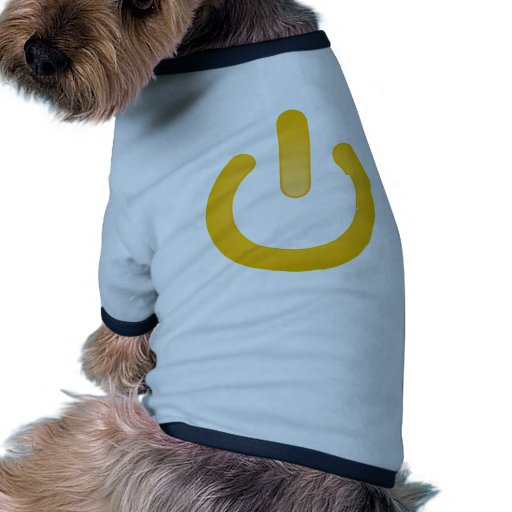 Simple Power Button Dog Clothes