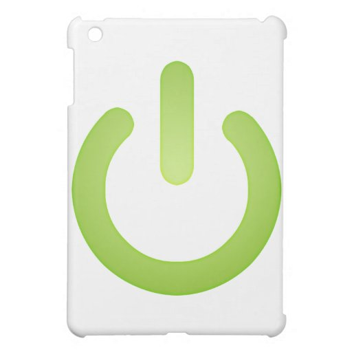 Simple Power Button Case For The iPad Mini