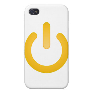 Simple Power Button Case For iPhone 4
