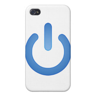 Simple Power Button iPhone 4/4S Cases