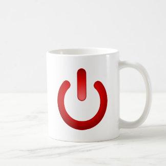 Simple Power Button Coffee Mugs