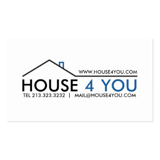 Simple Professional Real Estate Pack Of Standard Business Cards