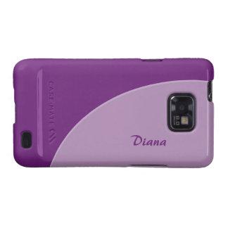 Simple Purple Modern Galaxy SII Cover