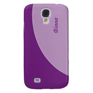 Simple Purple Modern Galaxy S4 Case