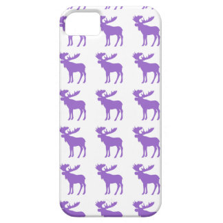 Simple purple moose symbol case for the iPhone 5