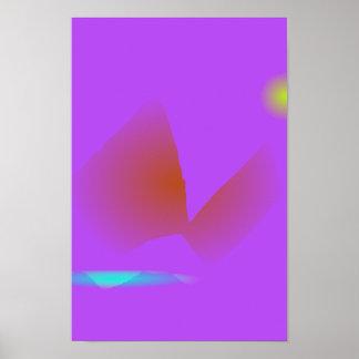 Simple Purple Music Poster