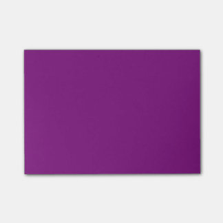 Simple Purple Post-it Notes