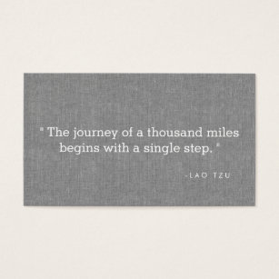 Motivational speaker business cards business card printing zazzle uk simple quote on grey linen authors writers business card colourmoves