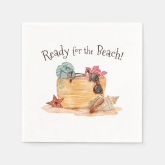 Simple Ready For The Beach Summer | Napkin Paper Napkin