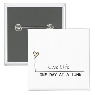 simple recovery 15 cm square badge