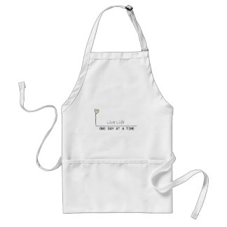 simple recovery adult apron