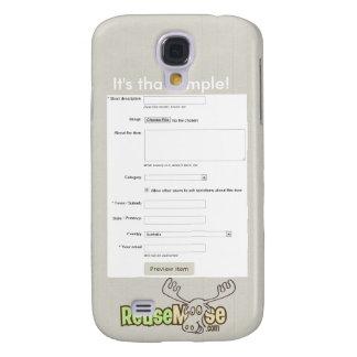 Simple ReuseMoose Galaxy S4 Case