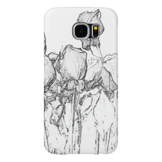 Simple Roses Samsung Galaxy S6 Cases