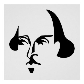 Simple Shakespeare Poster