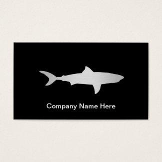 Simple Shark Business Cards