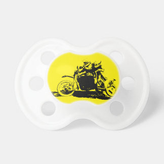 Simple Sidecarcross Design Pacifiers