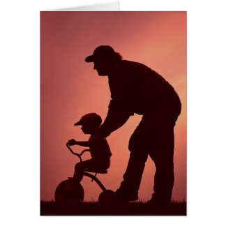 Simple SIlhouette Card for Father's Day