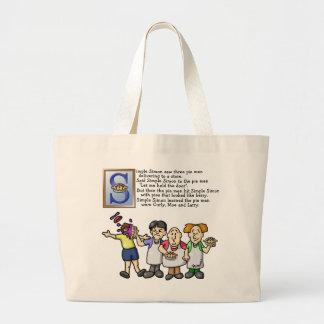 Simple Simon Jumbo Tote Bag