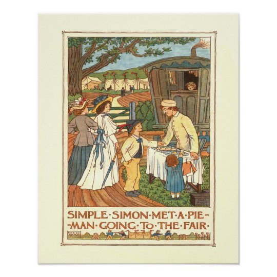 """Simple Simon"" Poster"