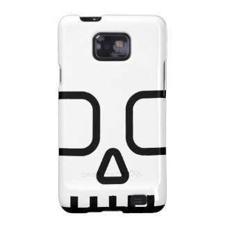 Simple Skull Samsung Galaxy SII Cover
