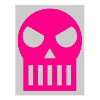 Simple Skull Postcard