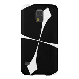 Simple Spiked cross Diamond Geometric Art Galaxy S5 Case