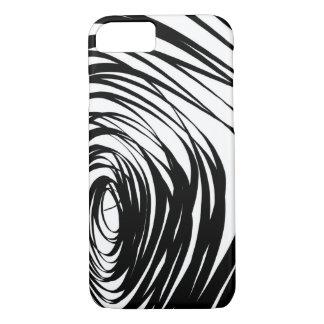 Simple Spiral Warped2 - Apple iPhone Case