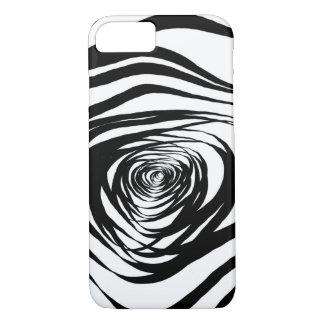 Simple Spiral Warped - Apple iPhone Case